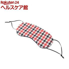 エツミ トラベルアイマスク ネイビーレッド(1コ入)【エツミ】