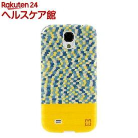 マン&ウッド GALAXY S4 イエローサブマリン ホワイト I2198S4(1コ入)【マン&ウッド(Man&Wood)】