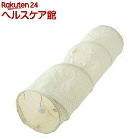 PuChiko シャカシャカロングトンネル ドットホワイト(1コ入)【PuChiko】