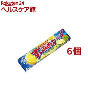 すッパイチュウ レモン味(12粒*6個セット)【ハイチュウ】
