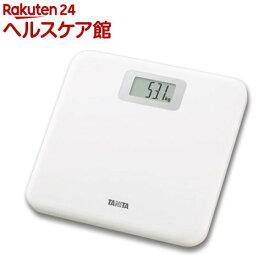 タニタ デジタルヘルスメーター ホワイト HD-661-WH(1台)【タニタ(TANITA)】