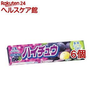 森永 ハイチュウ グレープ(12粒*6個セット)【ハイチュウ】