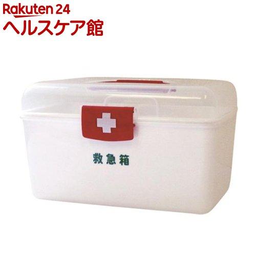 LEポリ救急箱(衛生材料セット付) Mサイズ(1コ)【リーダー】