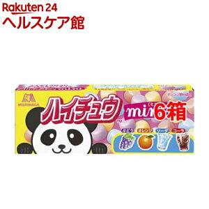森永 ハイチュウミニ(40g*6箱セット)【more20】【ハイチュウ】
