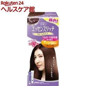 パオン エッセンスリッチ クリームタイプ 5W 暖かみのある栗色(1セット)【パオン】[白髪染め]