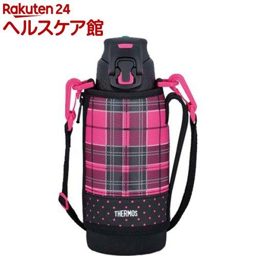 サーモス 真空断熱スポーツボトル 0.8L FFZ-801F P-CH ピンクチェック(1コ入)【サーモス(THERMOS)】