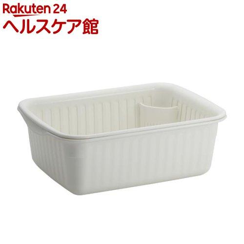 Nポゼ 水切りセット ホワイト 中(1コ入)【ポゼ(シンク廻り商品)】