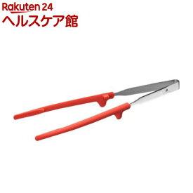ワンクリック菜箸 レッド UCS7(1本入)