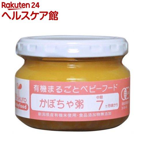 かぼちゃ粥(100g)【有機まるごとベビーフード】