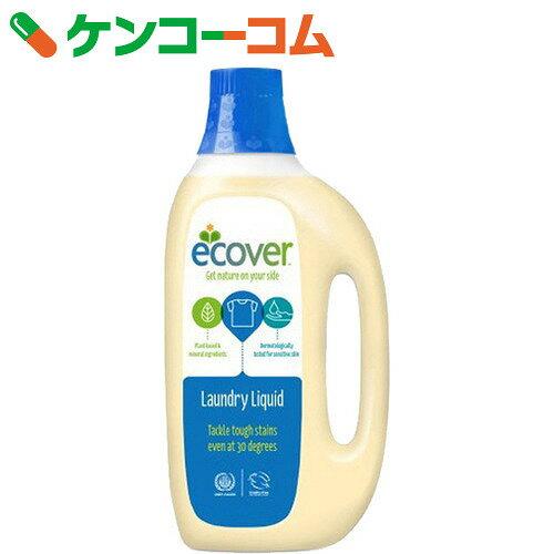 エコベール(Ecover) ランドリーリキッド(洗たく用液体洗剤) 1.5L【xwq】