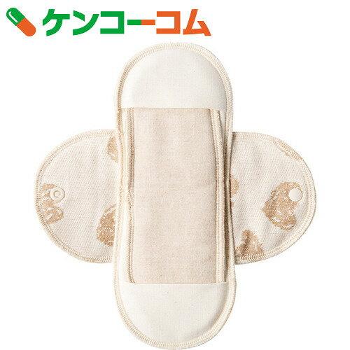 メイドインアース 布ナプキン 昼用S ポケット付き ハート・きなり 1枚入【送料無料】