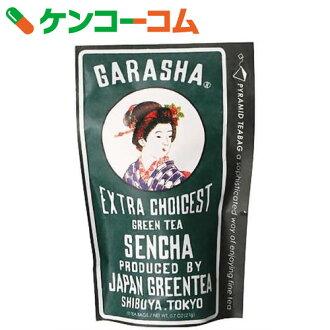 GARASHA茶袋煎茶2.1g*10茶袋[GARASHA(蛾呢绒)煎茶]