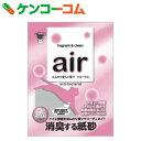 air 消臭する猫砂 フローラル 6L[スーパーキャット 猫砂・ネコ砂(香るタイプ)]【あす楽対応】