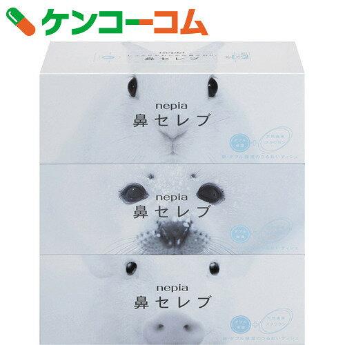 ネピア 鼻セレブティシュ 200組×3個パック【rank】