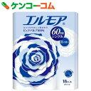 エルモア 18ロール シングル 花の香り 60m[エルモア トイレットペーパー]【あす楽対応】
