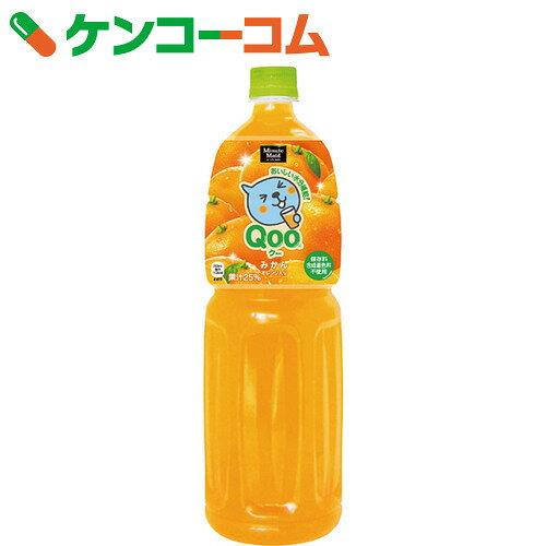 ミニッツメイド Qoo(クー) みかん 1.5L×8本【送料無料】