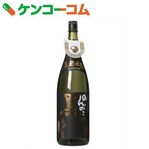 のんのこ黒 麦焼酎 25度 1.8L