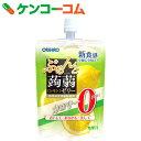 オリヒロ ぷるんと蒟蒻ゼリー カロリーゼロ レモン 130g[オリヒロ こんにゃくゼリー ダイエット]