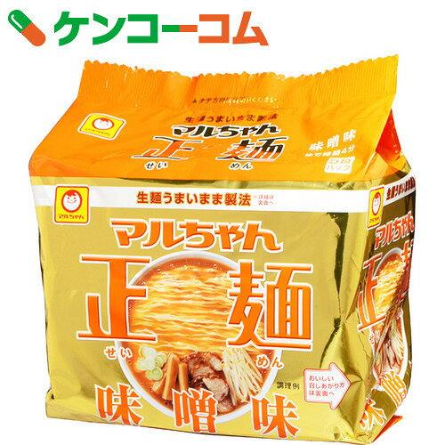 マルちゃん正麺 味噌味 5食入