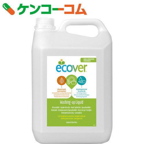 エコベール(Ecover) 食器用洗剤 レモン 5000ml【xwq】【送料無料】