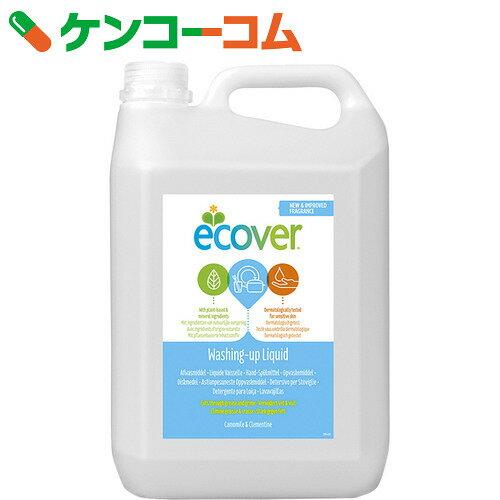 エコベール(Ecover) 食器用洗剤 カモミール 5000ml【xwq】【送料無料】