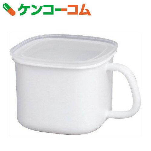 富士ホーロー NEIGE 角型みそポット N-KP[フジホーロー ホーロー保存容器]【あす楽対応】