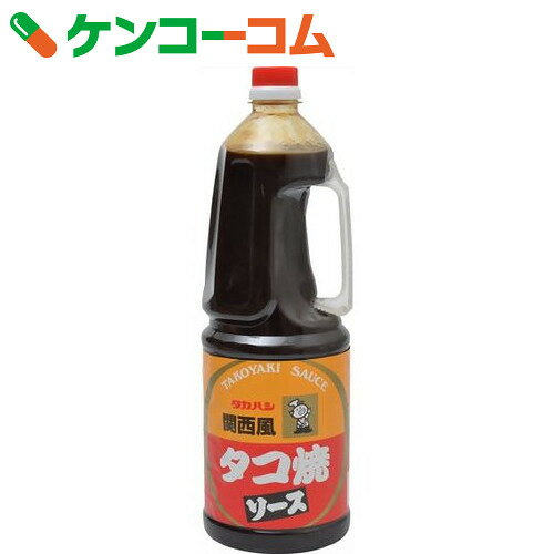 タカハシ 関西風タコ焼ソース 1.8L