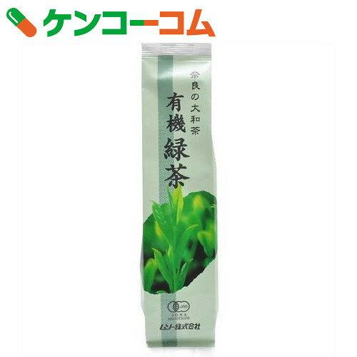 ムソー 奈良の大和茶 有機緑茶 100g