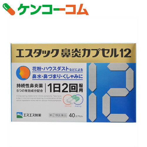 【第(2)類医薬品】エスタック鼻炎カプセル12 40カプセル