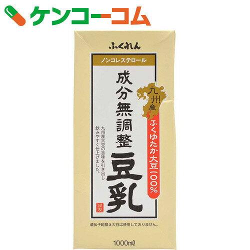 ふくれん 成分無調整豆乳 1L×6本