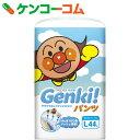 ネピア GENKI(ゲンキ) フィットするのにふわふわ通気 パンツ Lサイズ 44枚【12_k】