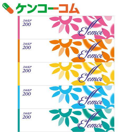 エルモアティシュー 400枚(200組)×5個