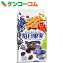 グリコ 毎日果実 ブルーベリー&ブルーベリー 15枚入×5個[毎日果実 バランス栄養食品]