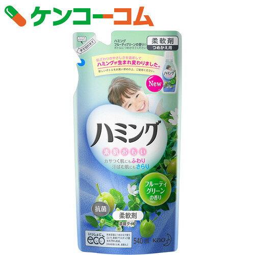 ハミング フルーティグリーンの香り つめかえ用 540ml【ko74td】【kao1610T】