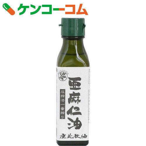 カホク 亜麻仁油(アマニ油) 100g
