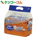 毎日清潔ウェットティッシュ お徳用 65枚×3コパック[ドッグプラス ウェットティッシュ(ペット用)]