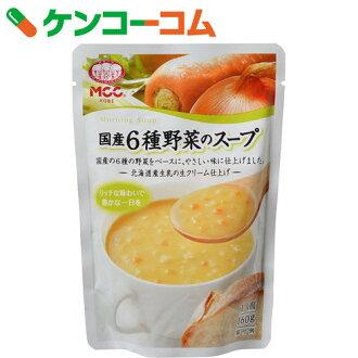 MCC早晨的汤系列国产6种蔬菜的汤160g[早晨的汤系列蔬菜汤]