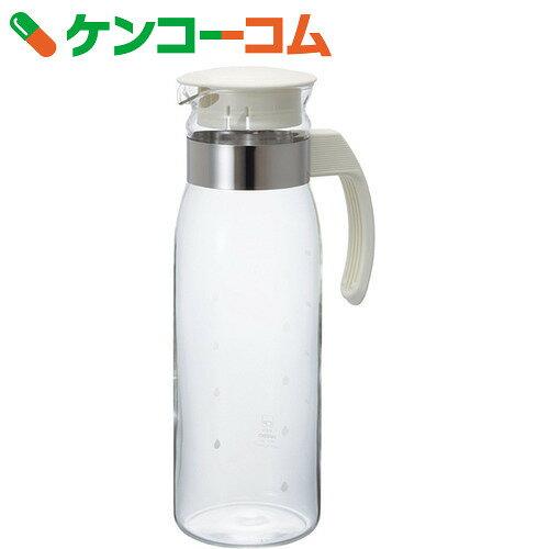 ハリオ 冷蔵庫ポットスリムN オフホワイト RPLN-14-OW 1400ml[ハリオ クーラー・麦茶ポット]【あす楽対応】