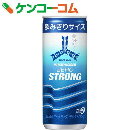 三ツ矢サイダー ゼロストロング 缶 250ml×20本[三ツ矢サイダー ゼロカロリー飲料(ノンカロリー飲料)]【あす楽対応】