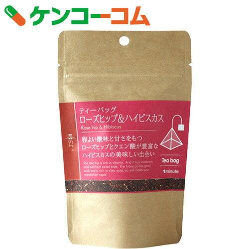 【訳あり】茶のみ仲間 ローズヒップ&ハイビスカス 2g×12包