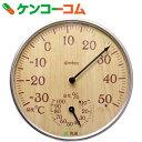 ドリテック アナログ温湿度計 ナチュラルウッド O-319NW[ドリテック 温湿度計 アナログ温湿度計]
