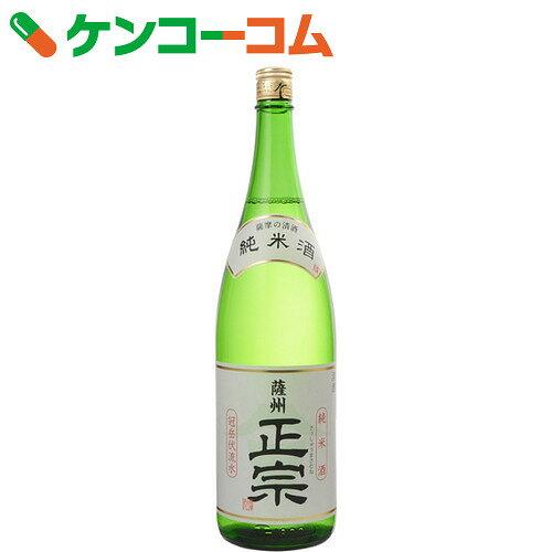 金山蔵 薩州正宗 純米酒(生貯蔵酒) 15度 1800ml【送料無料】