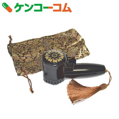 ターボ式線香ライター 龍炎 ブラック 携帯用袋付き【送料無料】