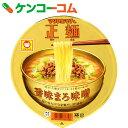 マルちゃん正麺 カップ 香味まろ味噌 121g×12個[マルちゃん カップラーメン]【送料無料】