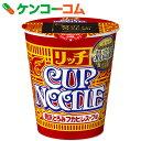 日清 カップヌードル リッチ 贅沢とろみフカヒレスープ味 78g×12個【送料無料】