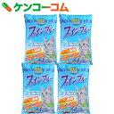 固まる紙製猫砂 ファインブルー 13L×4個【送料無料】