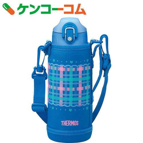 サーモス 真空断熱2WAYボトル FHO-800WF CHBL チェックブルー 0.8L[サーモス水筒 ステンレスボトル]【thbr12】【送料無料】