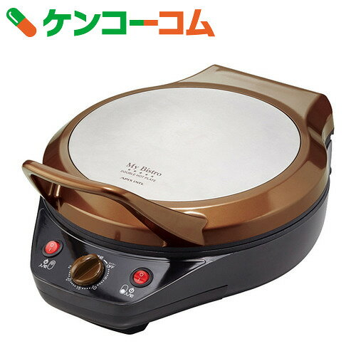 アピックス My Bistro ダブルホットプレート ブラウン AWP-292【送料無料】