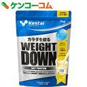 Kentai(ケンタイ) ウェイトダウン ソイプロテイン 甘さ控えめバナナ風味 1kg【送料無料】