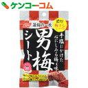 ノーベル 男梅シート 27g×6袋[男梅 梅菓子]